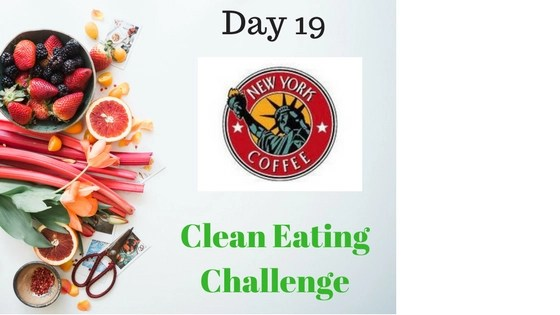 FoodPanda & New York Coffee  – Clean Eating Challenge D-19