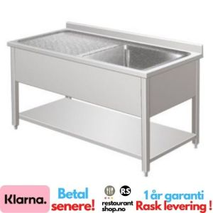 Rustfri Benk - BxDxH=100x70x85cm - 90002119