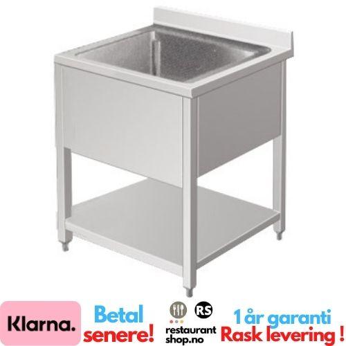 Rustfri Benk - BxDxH=60x70x85cm - 90002120