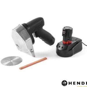 Kebabkniv - Oppladbar - 60kg - time - HENDI