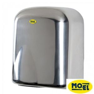 Håndtørker – 1650W – rustfritt stål – Moel