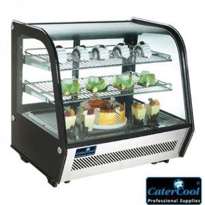 Utstillingskjøleskap - hbd 68,6x70,2x56,8cm - CaterCool