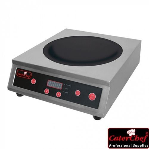 Induksjonskoketopp - Wok - 3100W - CaterChef