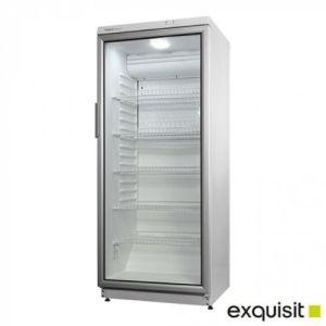 Kjøleskap med glassdør - 60x60x145 - Exquisit