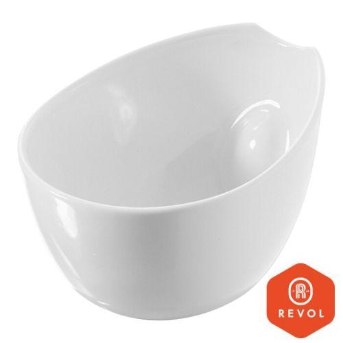 Tallerken porselen - 30,5x24,2cm - oval