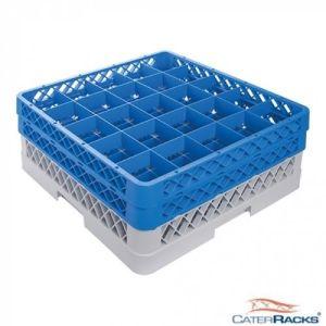Oppvaskkurv for glass - 25 rom - høy - CR2522