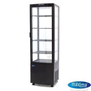 Kakedisk - Kjølekabinett - 235 liter - Svart - Maxima