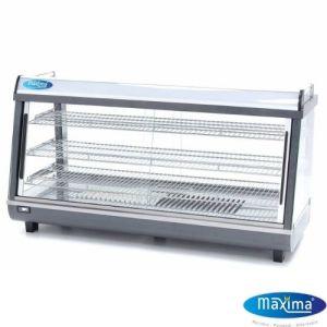 Varmedisk - Display 186L i rustfritt stål - Maxima