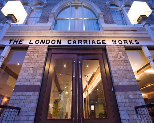 The London Carriage Works Liverpool Restaurant