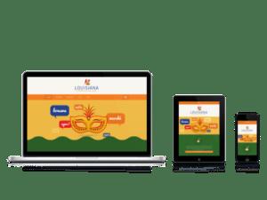 LHCV reponsive website designed by ASBA
