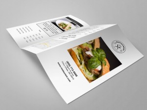 Restaurant Menu Template by Restaurant Spider