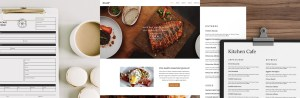 Menu Templates, Website Themes, Order Forms, brand templates