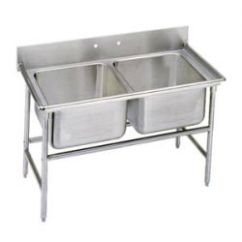 Commercial Kitchen Sink Apartment Cabinet Ideas Stainless Steel Sinks Restaurantsupply 2 Compartment