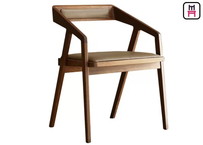 dining chair with armrest covers next geometry oak wood upholstered chairs commercial 60 degree