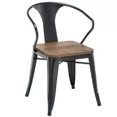Metal Restaurant Chairs Kitchen Table And Set Tolix Arm Wood Seats Commercial Outdoor Furniture