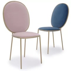 Chair Design Restaurant Glider With Ottoman India Armless Round High Back Metal Chairs Elegant Macarons Color