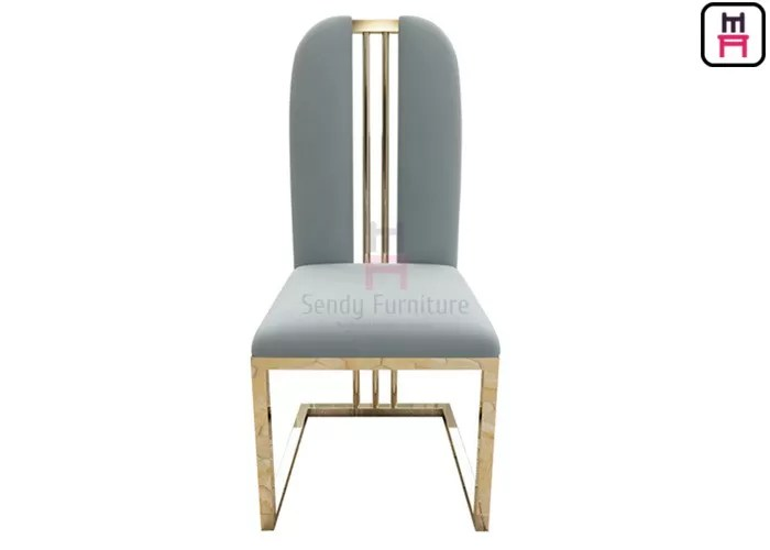 chair without back faux leather club and ottoman rose golden high dining chairs velvet seat w48 d42 h103cm arm