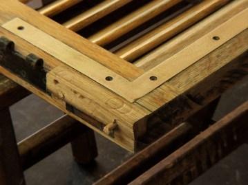 Restructuring house oak wood windows