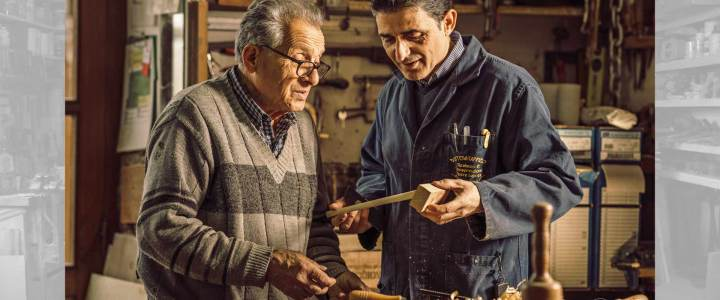 Raffaele Cappiello: mio Padre Luigi e la sua vita fatta con le mani