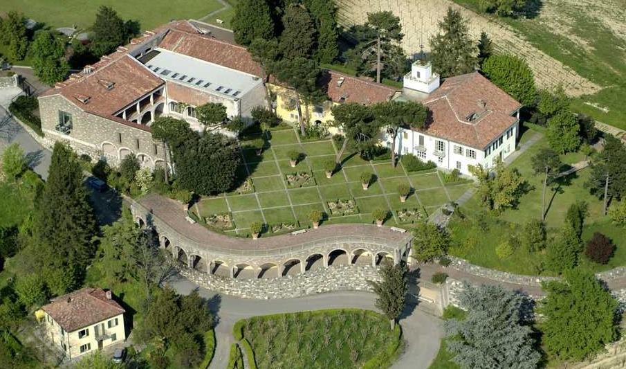Villa Ottolenghi di Borgomonterosso ad Acqui Terme un paradiso tra passato e presente