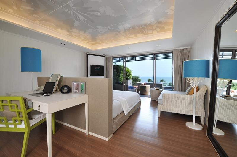 Rest Detail Hotel : 豪华海景房