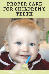 Proper Care for Children's Teeth: Tips from a dental hygienist.