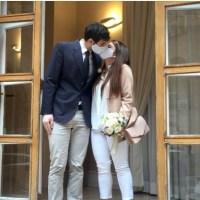 La pandemia non ferma l'amore: il matrimonio con mascherina di una giovane coppia foggiana