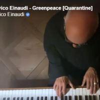 Covid-19, la musica di Ludovico Einaudi per Greenpeace/ VIDEO