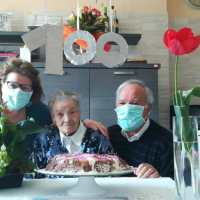 """Nonna Maria, 100 anni e un augurio: """"Supereremo anche questa"""""""