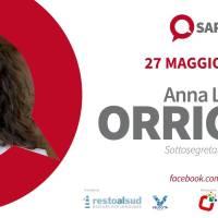 """A """"Sarà Talk"""" il sottosegretario al MIBACT, Anna Laura Orrico: """"La riscoperta del nostro patrimonio artistico è una opportunità"""""""