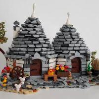 Resto al Sud... e lo costruisco con i mattoncini: i Trulli e il sogno Lego
