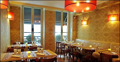 Le Boudoir  Restaurant ambiance boudoir  Paris 8me