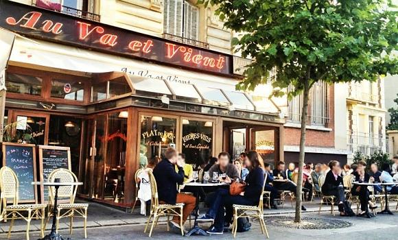 Restaurant Au Va et Vient - Terrasse