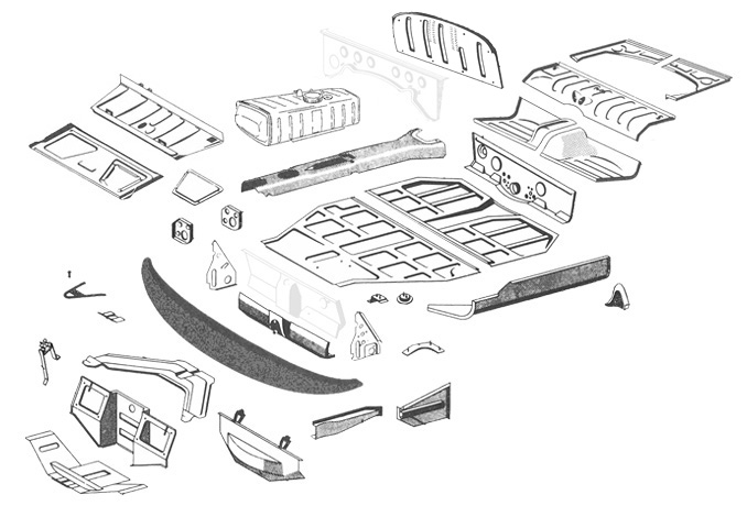 Restoration Design Inc.: 356 Chassis
