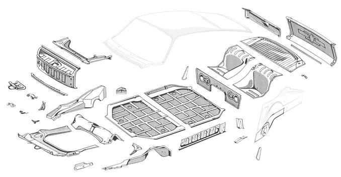 Restoration Design Inc.: 911/912 Chassis