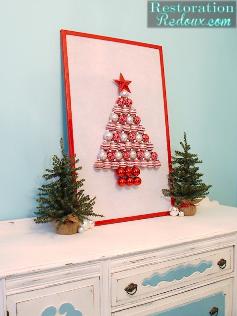 Ornament Christmas Tree Decoration | #christmas #ornaments #diy