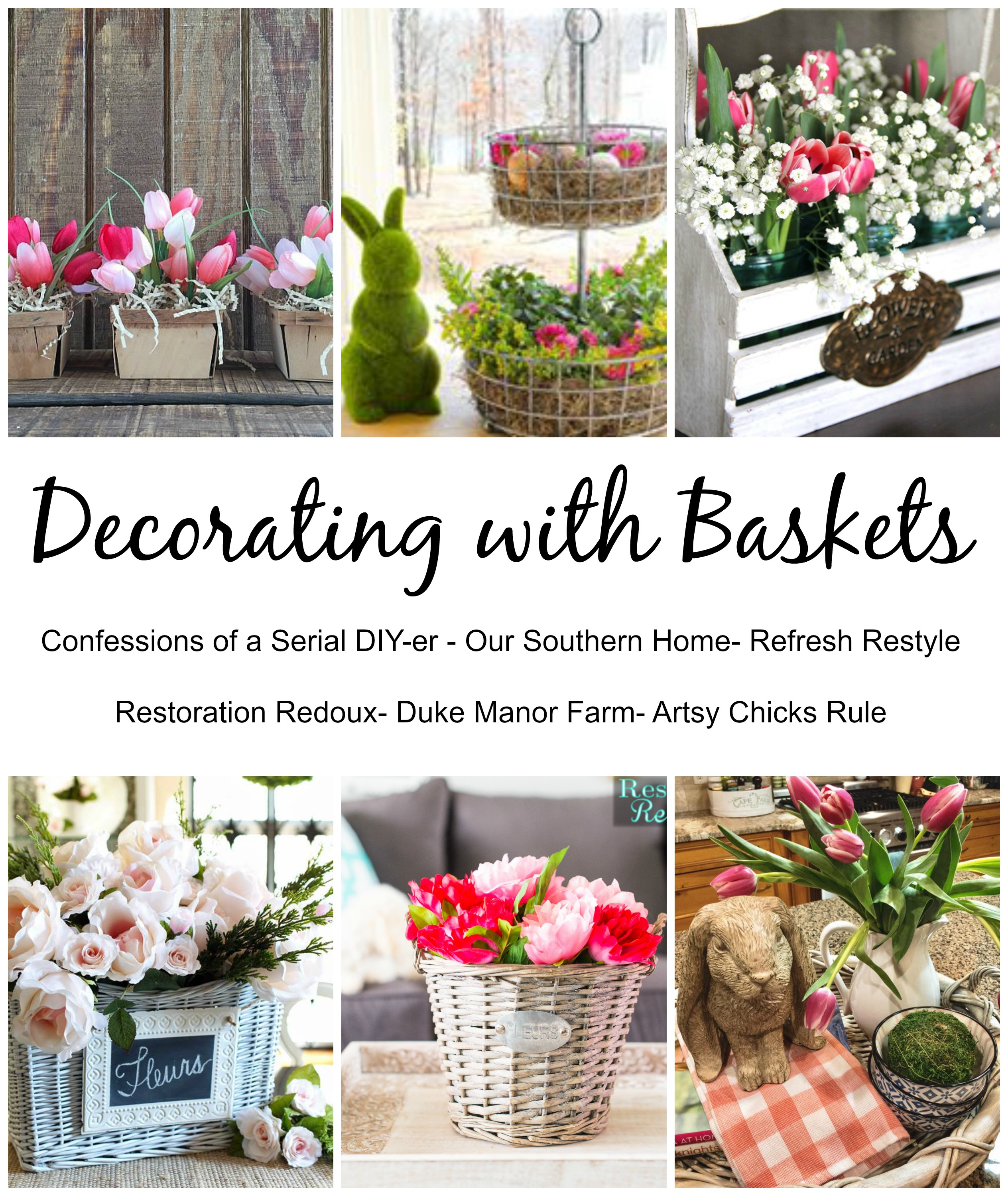Decorating with Baskets  Daily Dose of Style