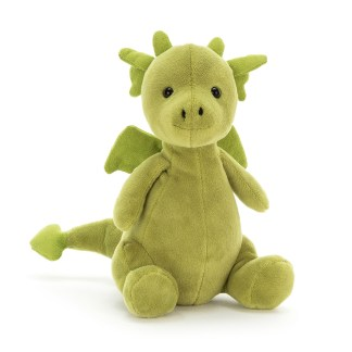 Little Puff Jade Soft Toy by Jellycat