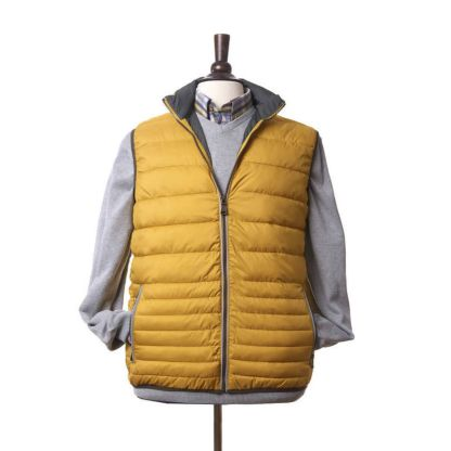 Lightweight Men's Gilet in Yellow by Vedoneire