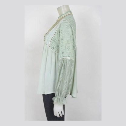 Blank Clothing Top Leonie Pastel Green