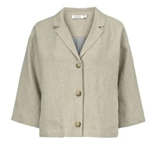 Linen Jade Jacket by Masai Clothing | Restoration Yard