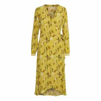 Berbel Japanese Print Dress Yellow by Part Two | Restoration Yard