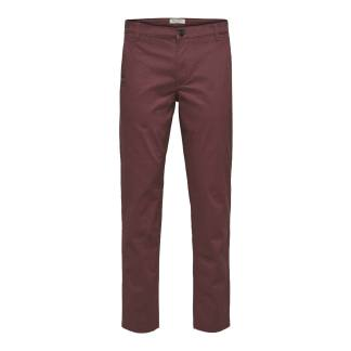 Selected Homme Straight Paris Pants Wild Ginger