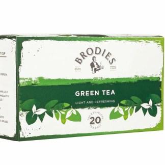 Brodies Green Tea Bags | Brodies Tea | Restoration Yard