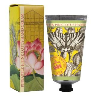 Kew Gardens | Pineapple & Pink Lotus Hand Cream | Restoration Yard