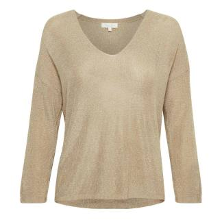 Part Two Beda Jumper in Pale Gold | Restoration Yard