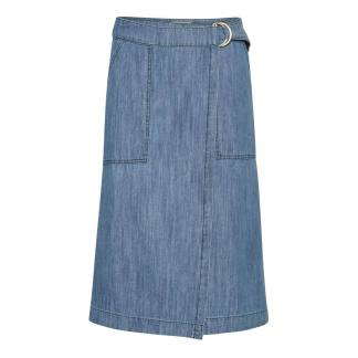 Part Two Blerina Skirt Light Blue Denim | Restoration Yard