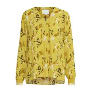 Part Two Pax Blouse in Yellow Japanese Print | Restoration Yard