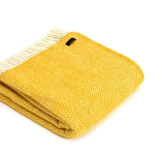 Tweedmill Throw Beehive Yellow | Restoration Yard