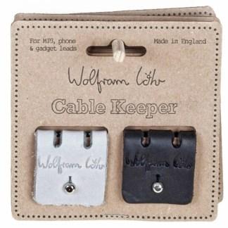 Cable Keeper Black & Grey by Wolfram Lohr | Restoration Yard